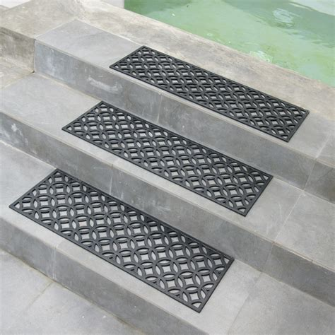 Mats For Outdoor Steps by Azteca Indoor Outdoor Stair Treads