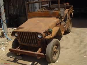 Jeep Restoration Restoration Of A Lhd Willys Jeep Team Bhp