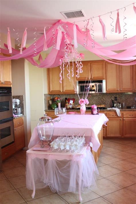 ceiling decorations decorate for parties pinterest pink princess party pink princess and princess party on