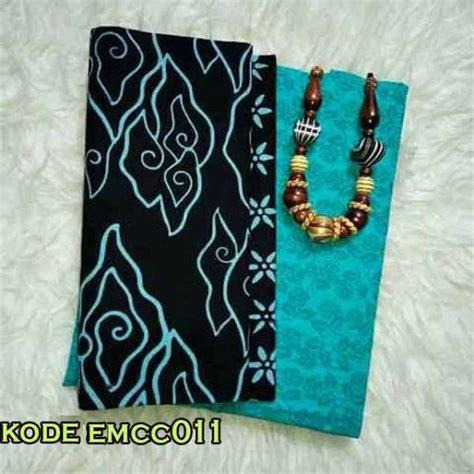 Kain Batik Dan Embos Sb7 Biru kain batik embos warna biru motif termurah batik embos
