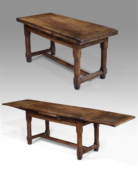 antique refectory table extending refectory table 18th