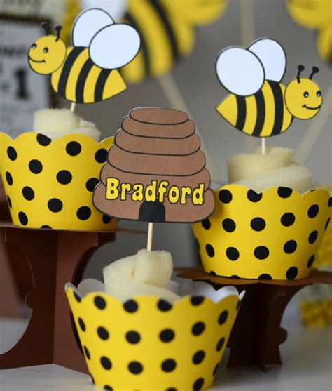 Bee Decorations by Bumble Bee Baby Shower Bumble Bee Birthday Decoratons