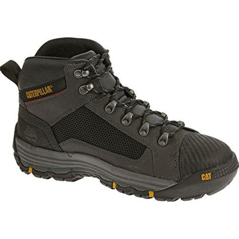 comfortable steel toe work boots caterpillar convex mid comfortable steel toe work boot