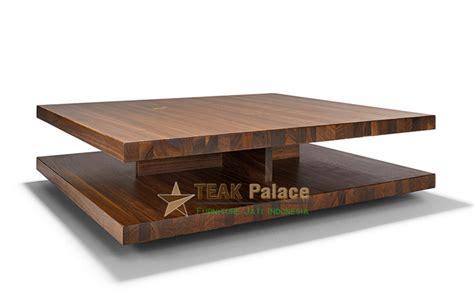 Sofa Kayu Solid meja tamu kayu jati solid modern minimalis sunter harga