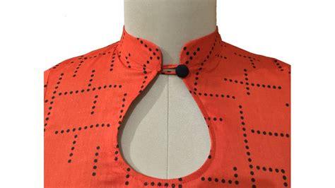 neck design cutting pattern collar neck design with kurti stitching trendy fashion