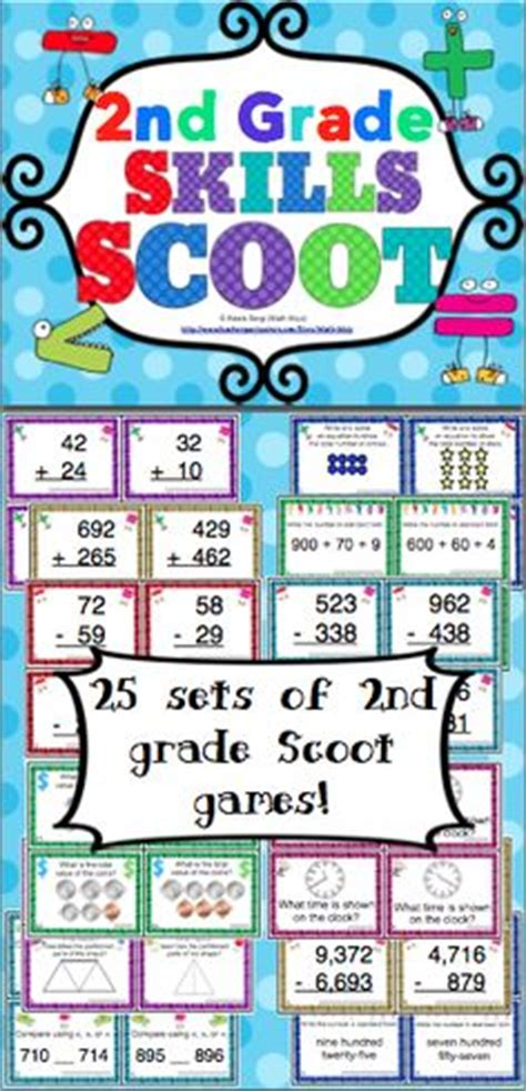 Math Set Ms 25 math for second grade on addition and