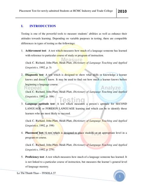 Exle Of Essay Test by Essay Exles Placement Test Sle Resume Assistant Preschool I Need Motivation To