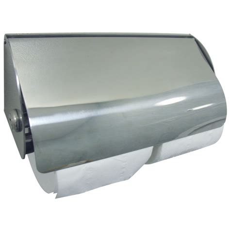 toilet paper dispenser dolphin bc267 double stainless steel lockable toilet paper