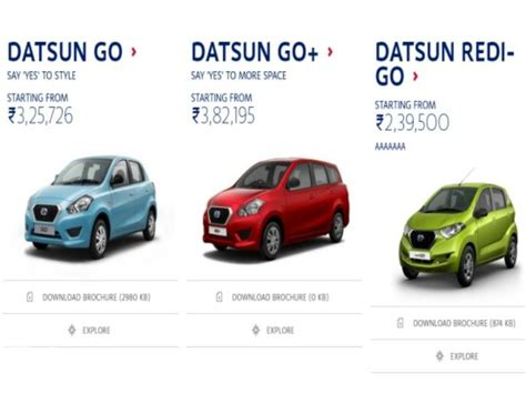 datsun redi go prices leaked days before official launch