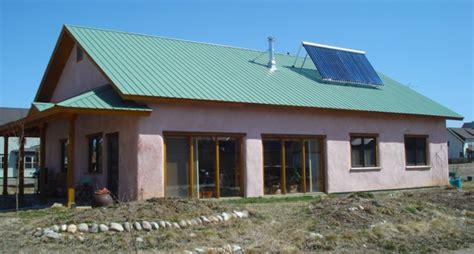 Passive Solar Straw Bale House Plans A Passive Solar Straw Bale House Green Passive Solar