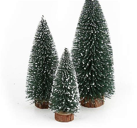 snow needle pine tree mini tree pine needles flocking snow snow