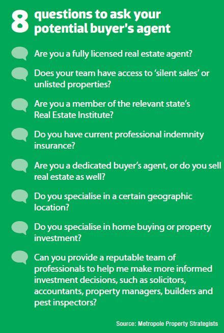 questions to ask seller when buying a house engaging the right buyer s agent