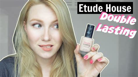 Etude House Dbl 602 review etude house lasting foundation