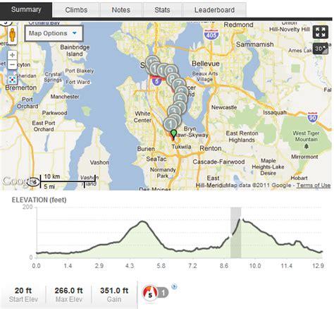 seattle marathon map journey from yuppie to triathlete half marathon course