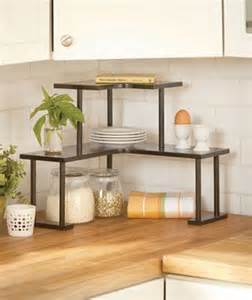 Kitchen Counter Corner Shelf 2 Tier Wooden Corner Shelves Home Sweet Home Pinterest