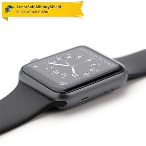 Cover Screen Protector Untuk Apple Series 1 42mm apple 42mm series 1 screen protector black carbon fiber skin armorsuit
