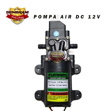 Paket Pompa Air Adaptor Potensio jual 12v pompa air water 12 volt dc sembrani technology
