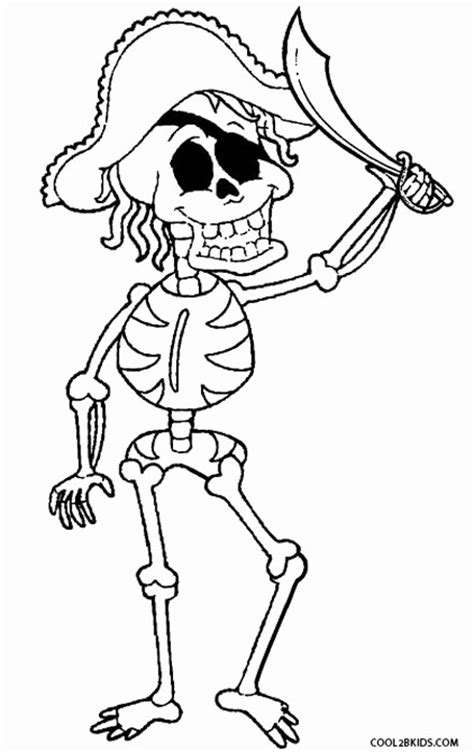 Free Dog Skeleton Coloring Pages Skeleton Color Page