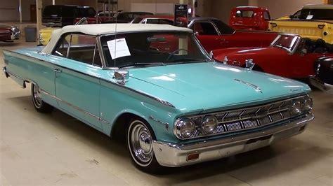 how cars engines work 2007 mercury monterey navigation system 1963 mercury monterey convertible 390 v8 youtube