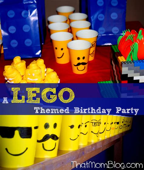 lego themed birthday decorations lego that