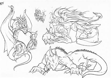 tattoo flash outlines free tattoo design outlines
