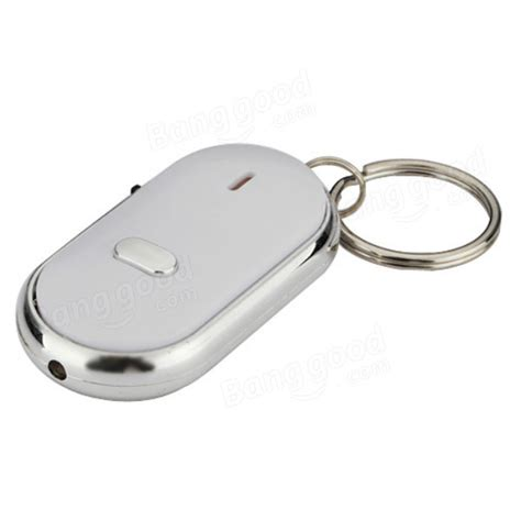 Key Finder Whistle Key Finder Keychain Sound Led With Whistle Claps