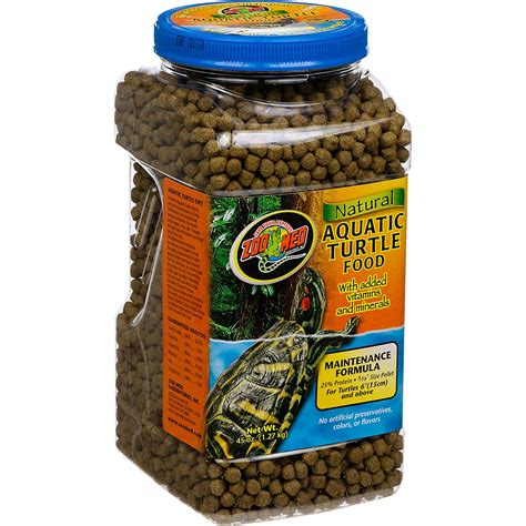 petco treats zoo med maintenance formula aquatic turtle food petco