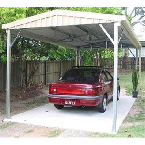 absco 3 x 6 x 2 25m colorbond gable roof single carport