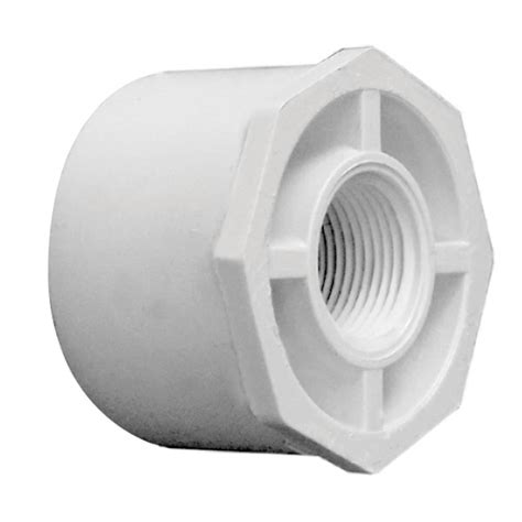 pvc fittings reducing 3 4 1 inch x 3 4 inch pvc threaded reducing bushing