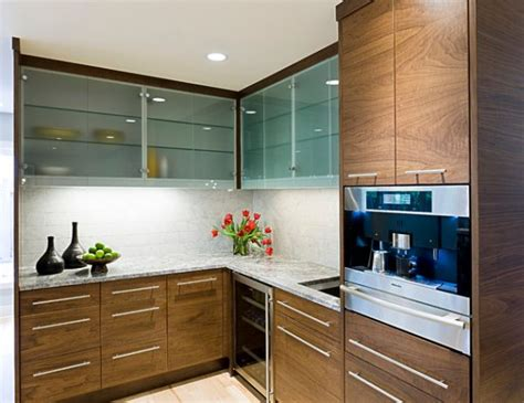 Modern Glass Kitchen Cabinets back to 28 kitchen cabinet ideas with glass doors for a