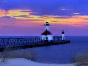 Joe Light St Joseph Lighthouse Michigan Lighthouses Pinterest