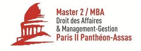 Esg Mba Droit Des Affaires by Communiqu 233 M2 Mba Droit Des Affaires Management Gestion