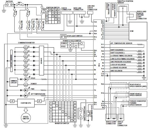 engine wire diagram 2001 subaru legasy 2001 subaru outback