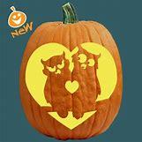 Owl Pumpkin Stencils | 500 x 500 jpeg 28kB