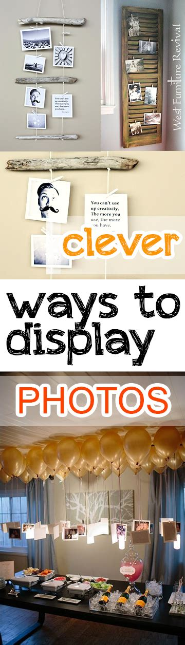 ways to display pictures clever ways to display photos picky stitch