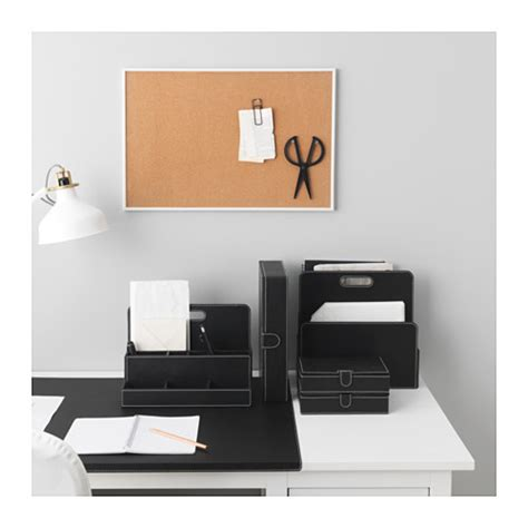 ikea desk storage rissla desk organiser black ikea