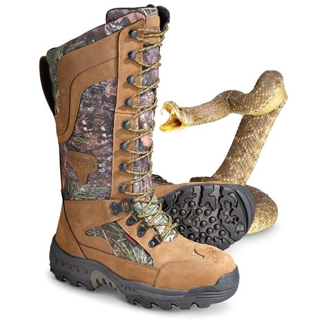 snake proof boots for truetimber 174 venom snake proof boots mixed pine 141374