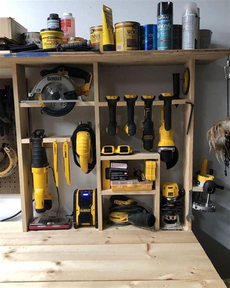 tool organization garage storage shelves diy tool