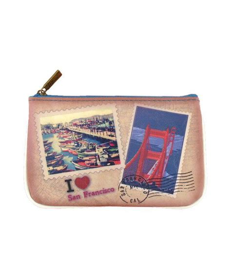 Print Faux Leather Pouch 17 best pouch san francisco collection images on