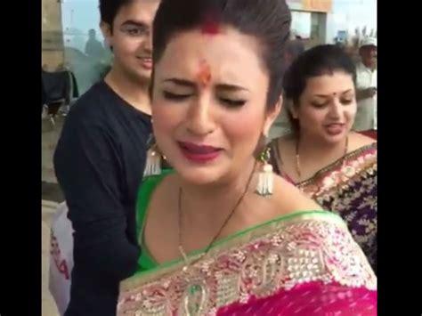 vivek dahiya with his wife divyanka tripathi shares bidaai video vivek dahiya