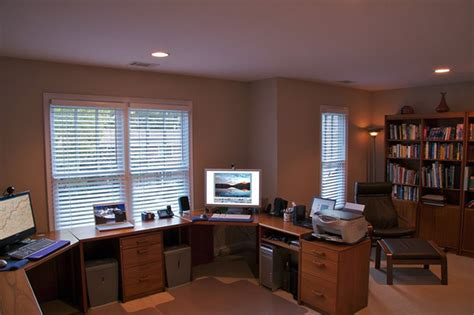 home office setup ideas basement office offices and basements on pinterest simple