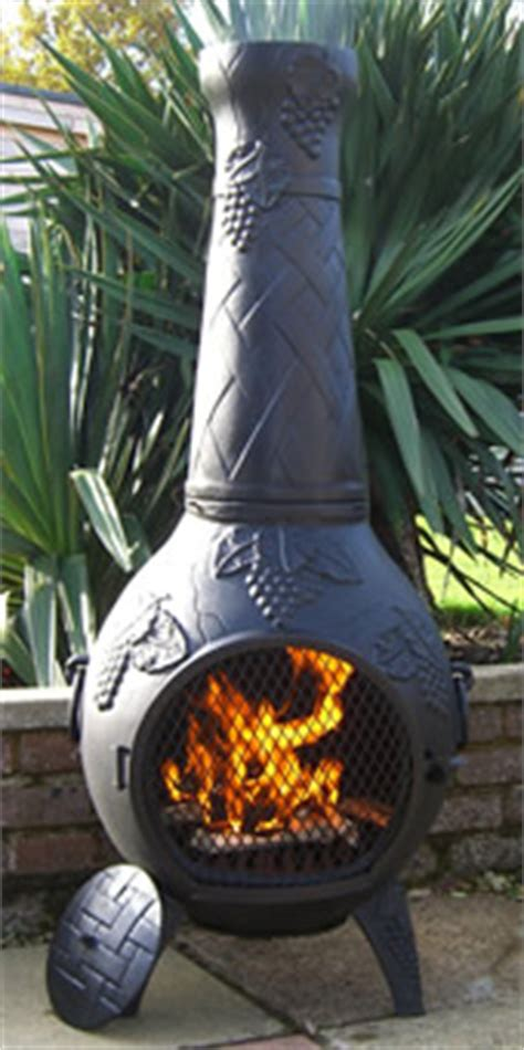 Buy Chiminea Uk Buy The Vineyard Cast Iron Chiminea From The