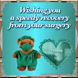 Wishing you a speedy recovery from your surgery