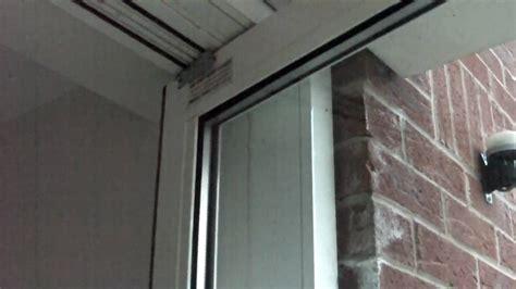 door hinge raise door completed work on commercial aluminium door