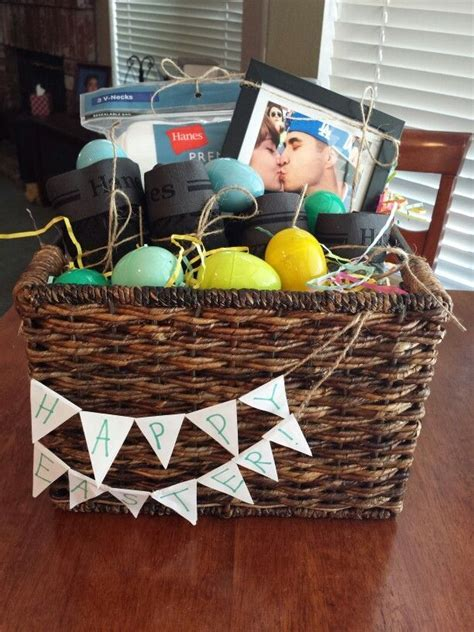 Homemade Easter basket for him   Pinterest Projects