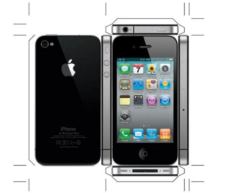 How To Make A Phone Out Of Paper That Works - can t wait for iphone 4 make a paper one cult of mac