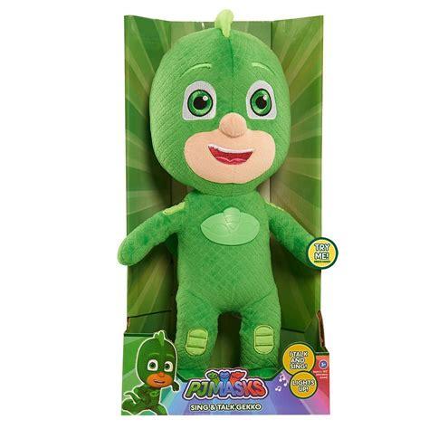 Gw Se F Green Owl mu 241 eco pj mask h 233 roes en pijamas gekko habla y canta 1 049 00 en mercado libre
