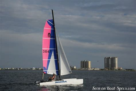 catamaran nacra nacra 460 fun sailboat specifications and details on boat