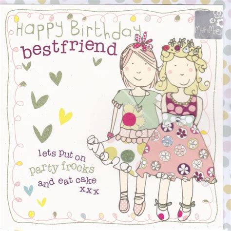 printable birthday cards for a best friend birthday cards for children collection karenza paperie