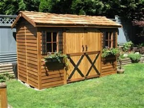 100 Sq Ft Shed by Cedar Shed 100 Square Seattle Sheds The Yard Works